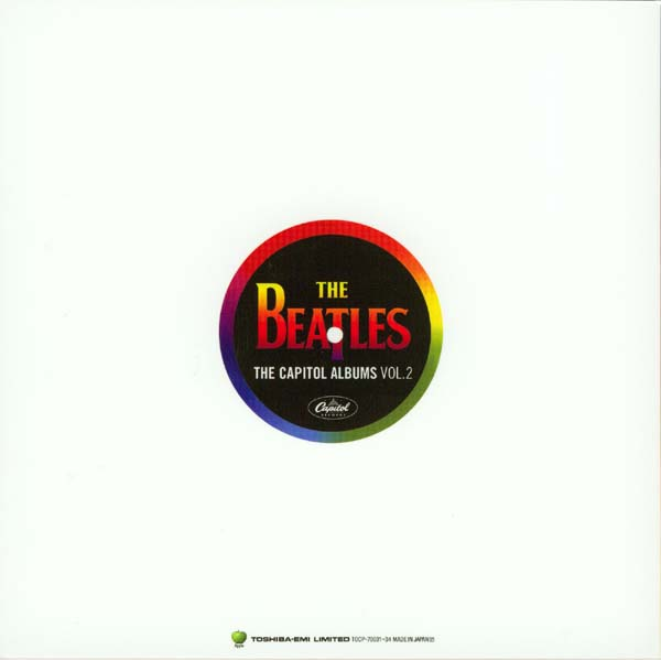 Photo and English text book back, Beatles (The) - The Capitol Albums Vol.2