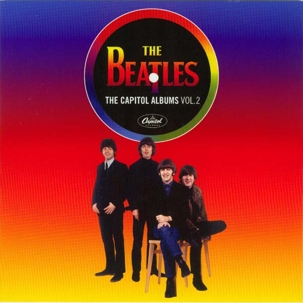 Photo and English text book front, Beatles (The) - The Capitol Albums Vol.2