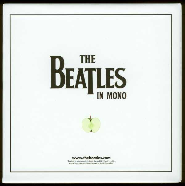 Back of box (scan), Beatles (The) - The Beatles in Mono