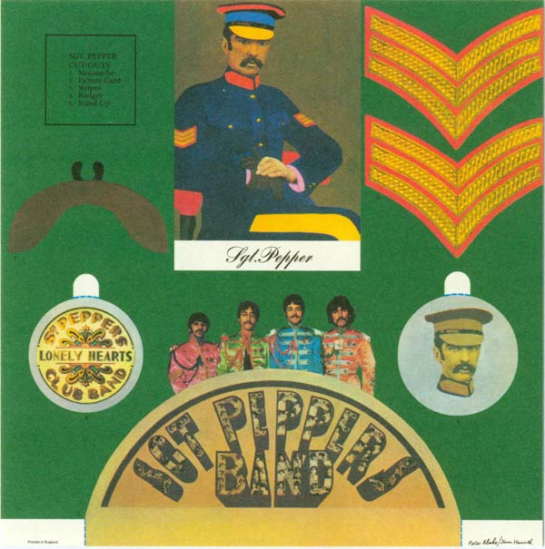 Sgt Pepper's Cutout Kit, Beatles (The) - Sgt. Pepper's Lonely Hearts Club Band