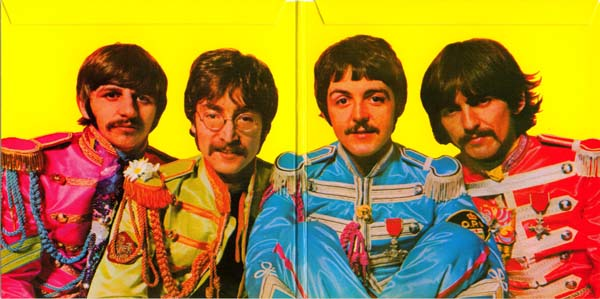 Inside gatefold, Beatles (The) - Sgt. Pepper's Lonely Hearts Club Band