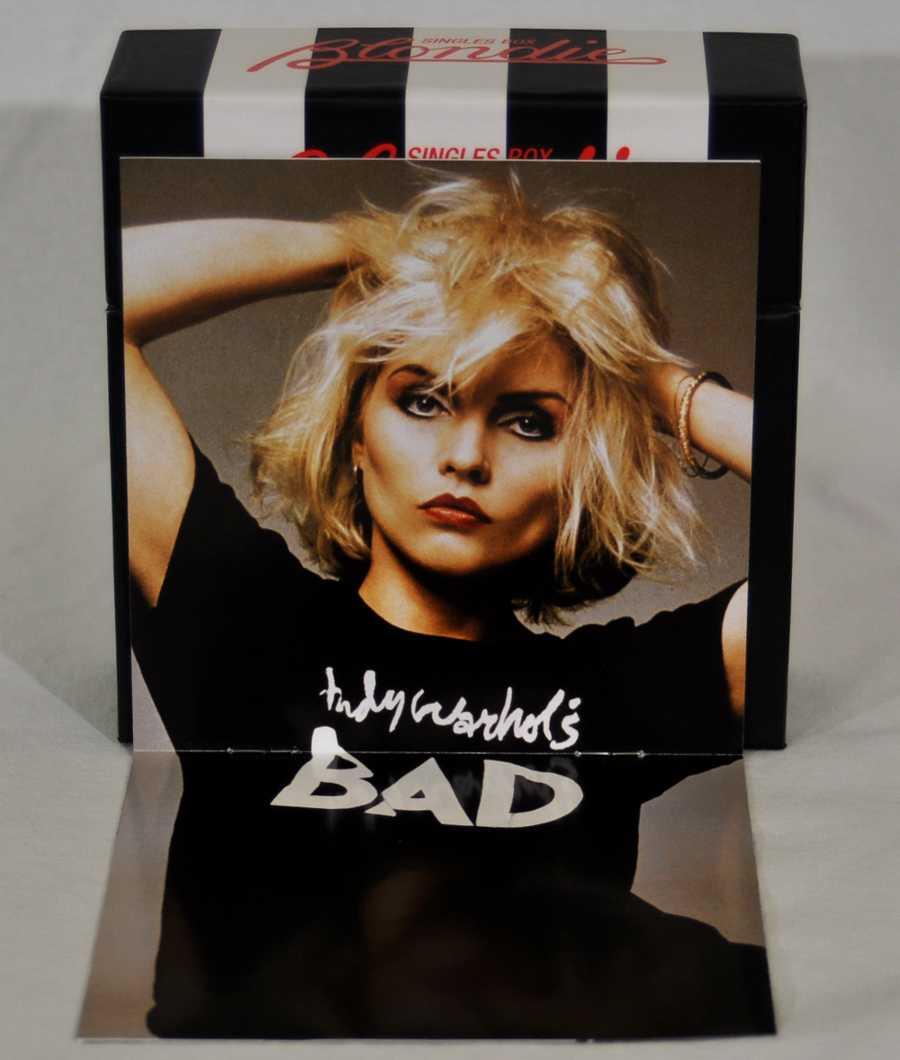 Inside spread of booklet, Blondie - Singles Box