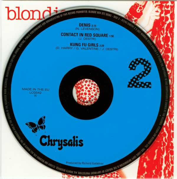 Denis CD, Blondie - Singles Box