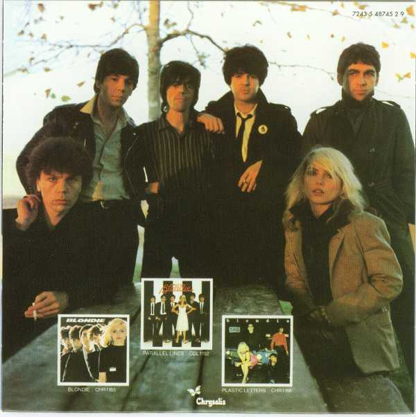 Heart of Glass Back cover, Blondie - Singles Box