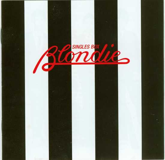 Booklet front cover, Blondie - Singles Box