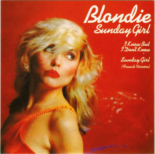 Sunday Girl, Blondie - Singles Box