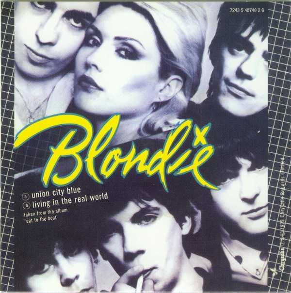 Union City Blue Back Cover, Blondie - Singles Box
