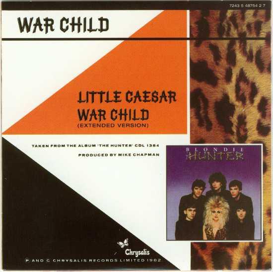 War Child Back Cover, Blondie - Singles Box