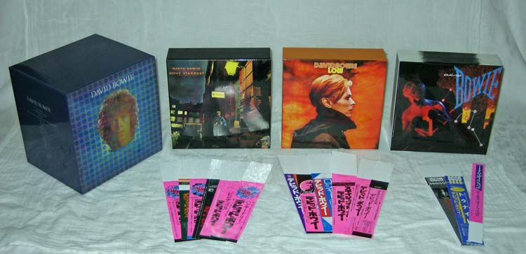 Boxes and promo obis, Bowie, David - Space Oddity Box