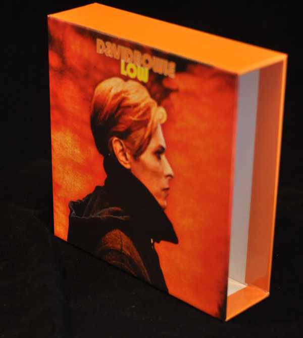 Front - empty box, Bowie, David - Low Box and Promo Obis