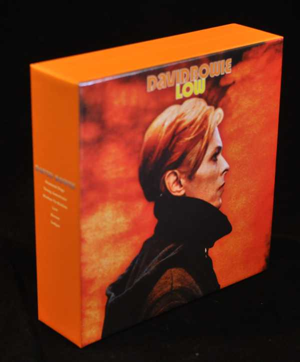 Front and spine, Bowie, David - Low Box and Promo Obis