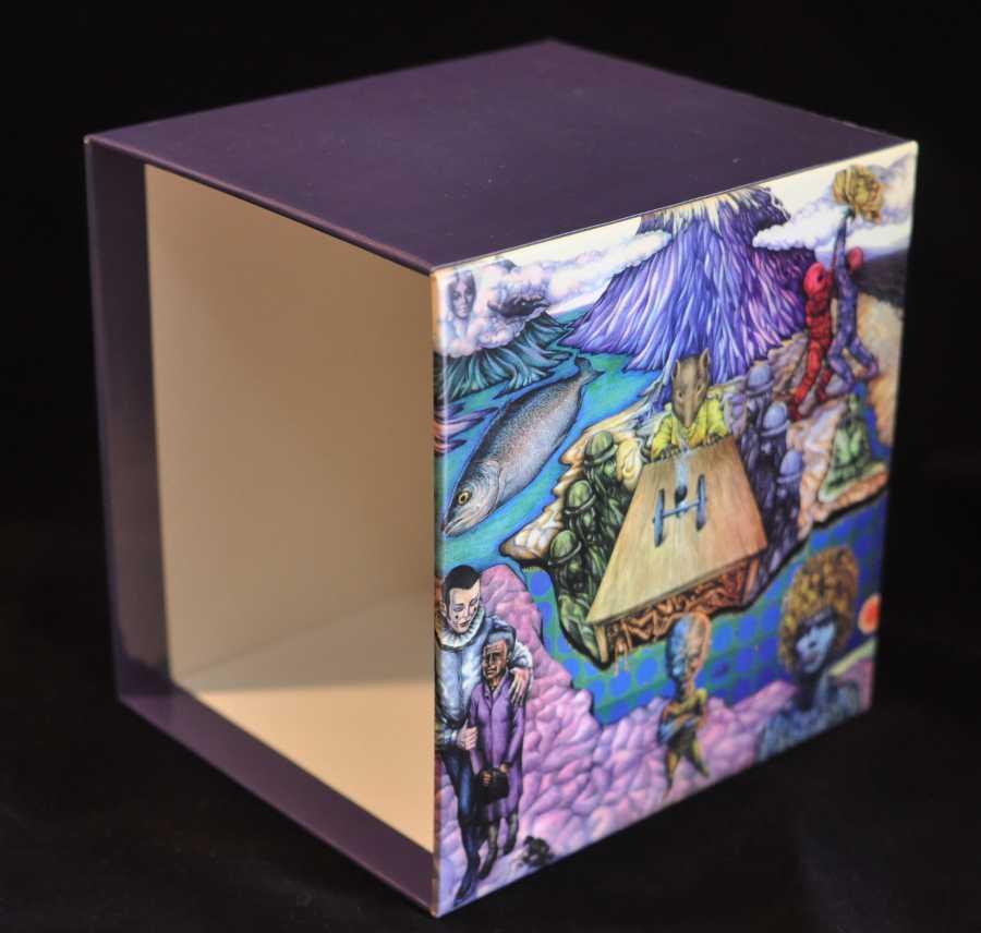 Back - empty box, Bowie, David - Space Oddity Box