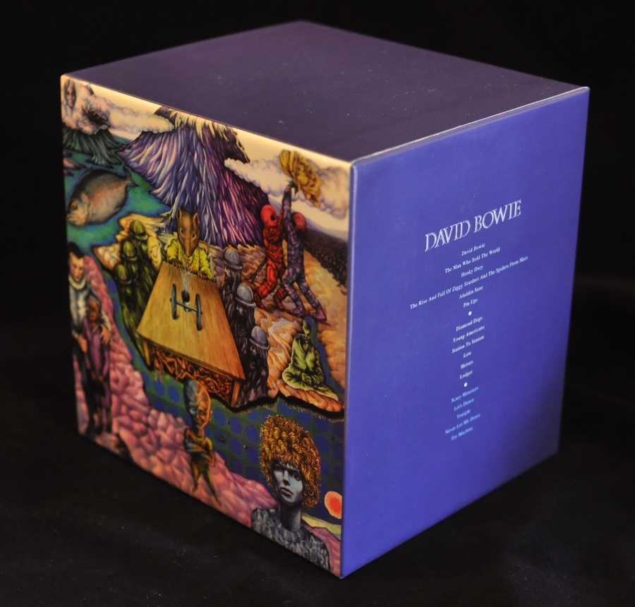 Back and spine, Bowie, David - Space Oddity Box