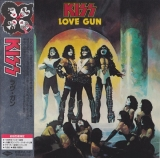 Kiss : Love Gun : cover