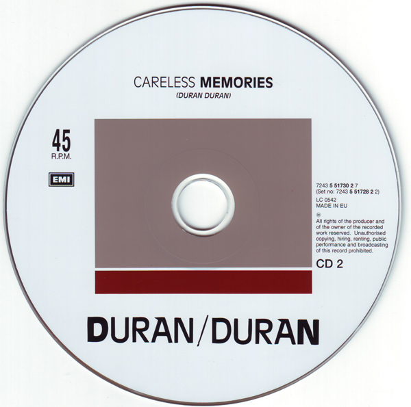 CD2 [Disc], Duran Duran - The Singles 81-85 Boxset