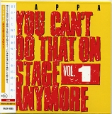 Zappa, Frank - You Can't Do That on Stage Anymore Vol.1
