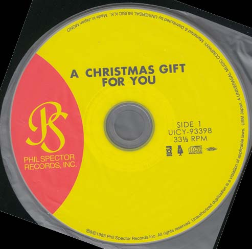, Spector, Phil (Various Artists) - A Christmas Gift for You From Phil Spector