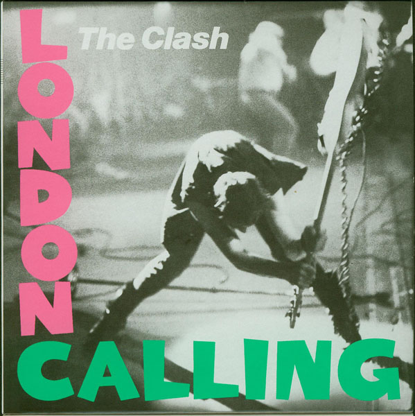 Front cover no Obi, Clash (The) - London Calling