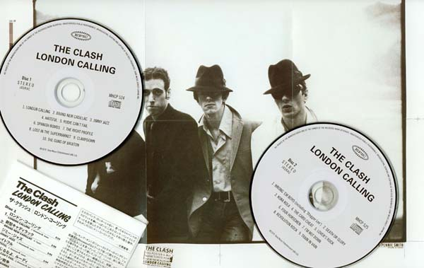 Inserts, Clash (The) - London Calling