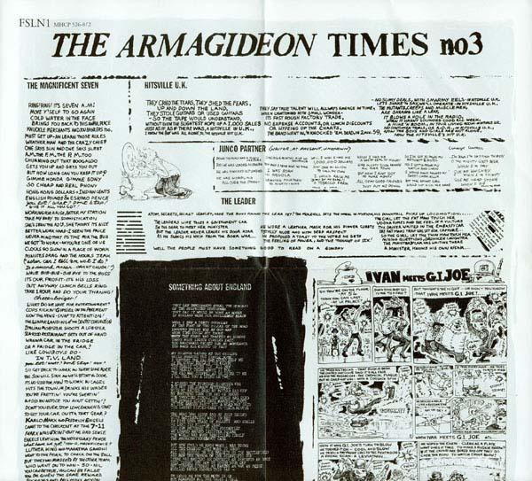 The Armagideon Times, Clash (The) - Sandinista