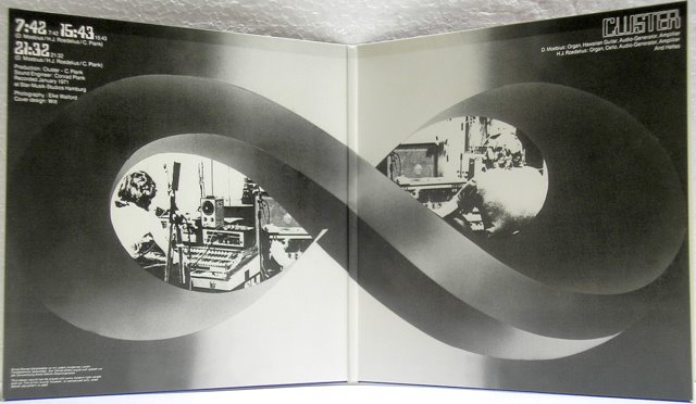 Promo Cover inside, Cluster - '71