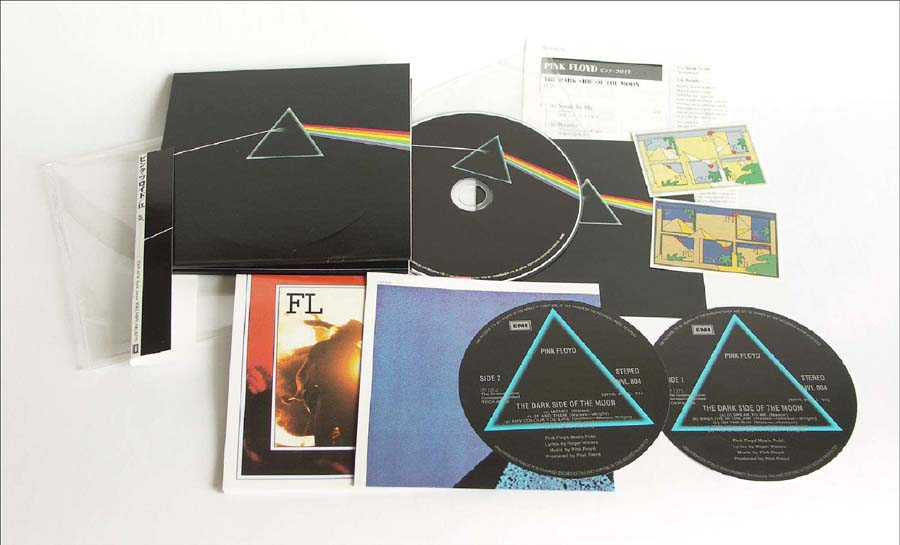 Full contents, Pink Floyd - The Dark Side Of The Moon