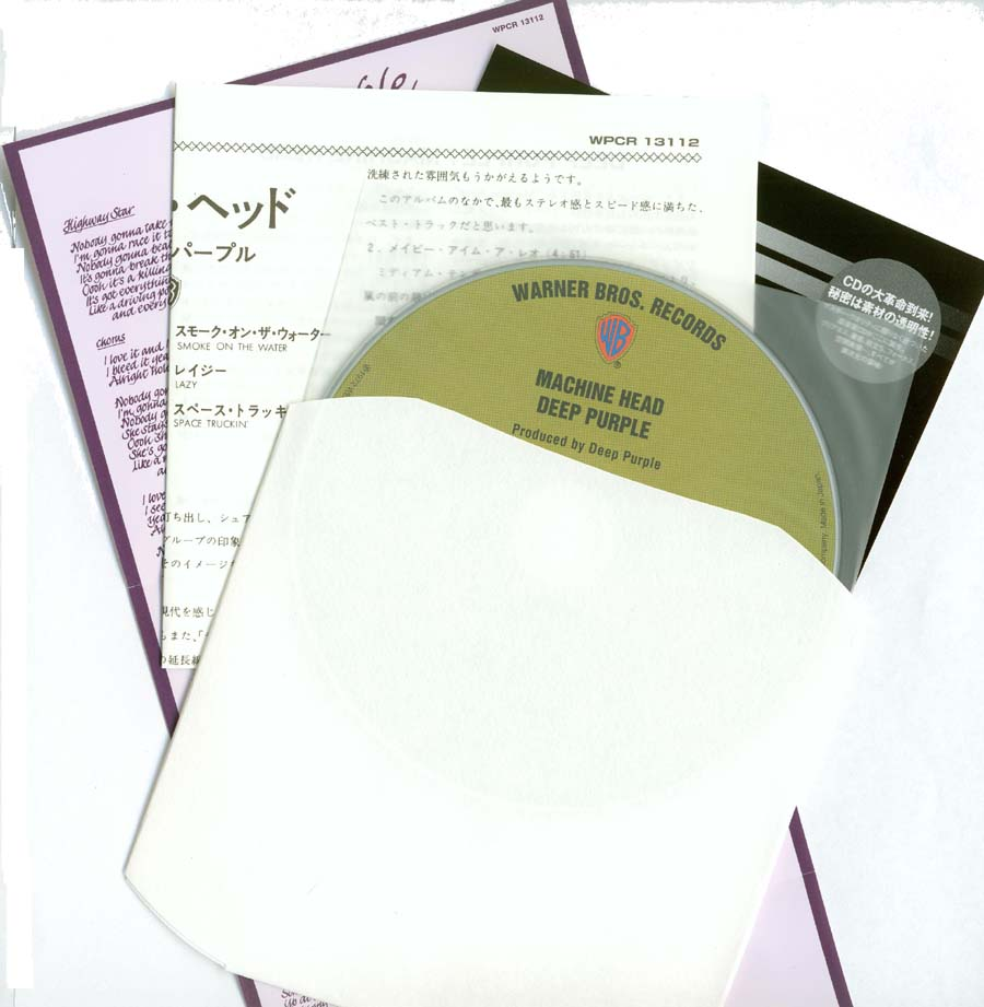 Contents, Deep Purple - Machine Head