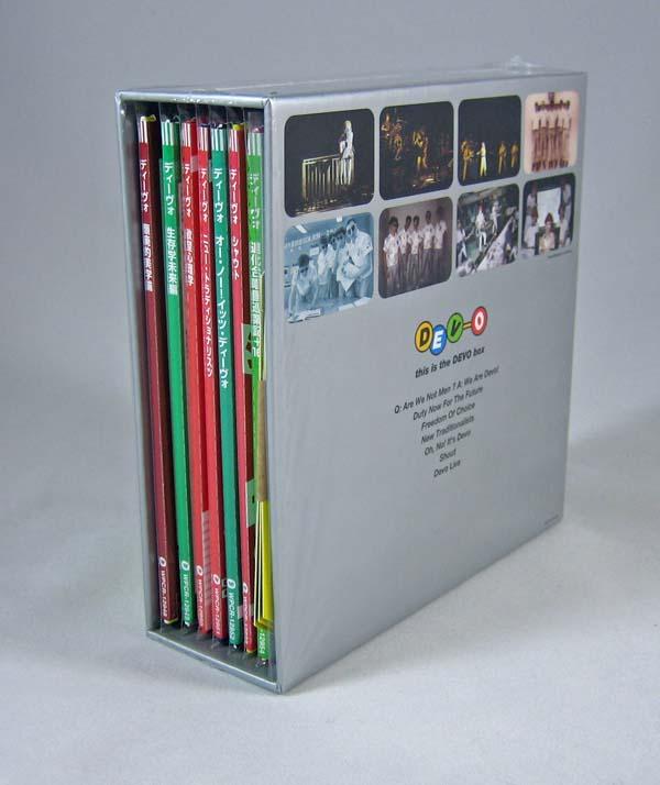 Back of box, Devo - This Is The Devo Box