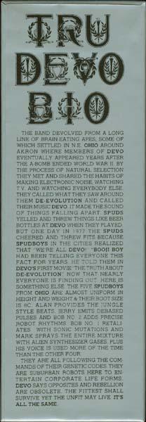 Base of the box , Devo - This Is The Devo Box
