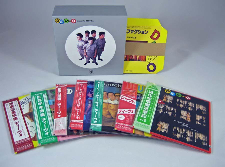 Contents, Devo - This Is The Devo Box