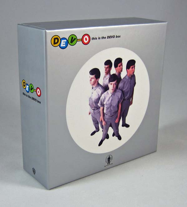 Box with no shrink wrap / no obi, Devo - This Is The Devo Box