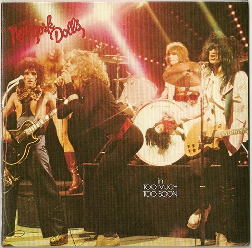 Front w/o OBI strip, New York Dolls - In Too Much Too Soon