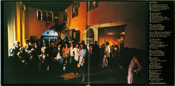 Gatefold, Eagles - Hotel California