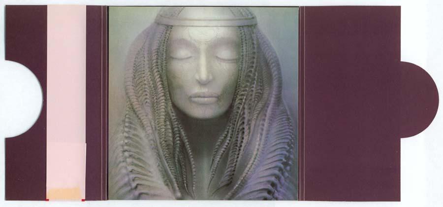 Inside gatefold cover, Emerson, Lake + Palmer - Brain Salad Surgery