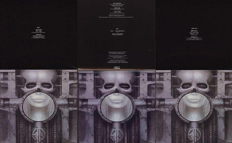 Open poster, Emerson, Lake + Palmer - Brain Salad Surgery