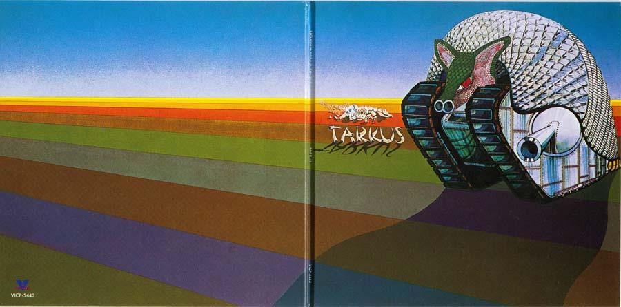 Open gatefold, Emerson, Lake + Palmer - Tarkus