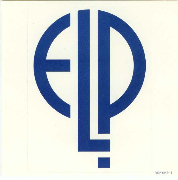 ELP Sticker for VICP-5442 & 43 & 44, Emerson, Lake + Palmer - Tarkus