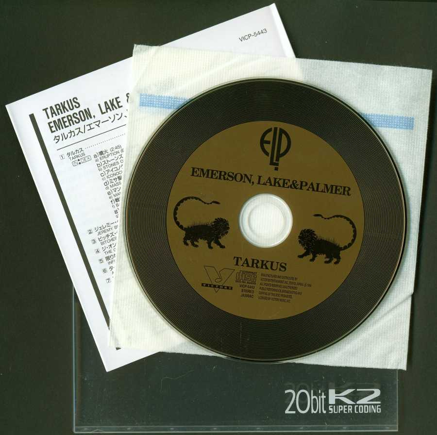 Contents, Emerson, Lake + Palmer - Tarkus