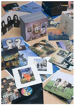 EMI Prototype(?) box detail - image from pre-release promotional material, Pink Floyd - Oh By The Way: European Box Set
