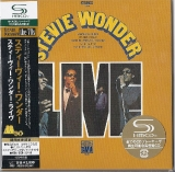 Wonder, Stevie : Stevie Wonder Live : cover