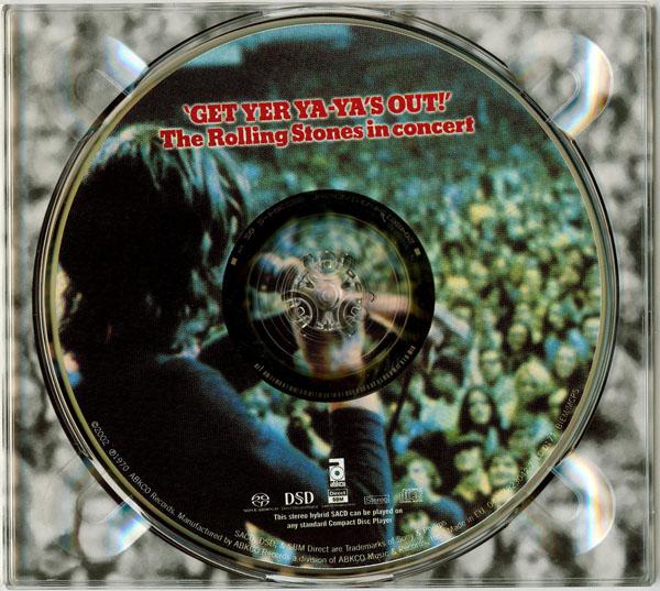 Digipak, Rolling Stones (The) - Get Yer Ya-Ya's Out!