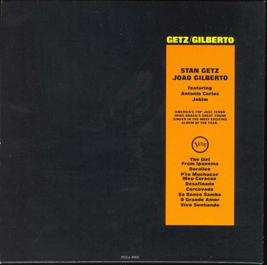 , Getz, Stan + Gilberto, Joao - Getz/Gilberto