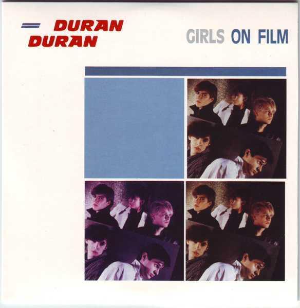 CD3 Sleeve [Front], Duran Duran - The Singles 81-85 Boxset