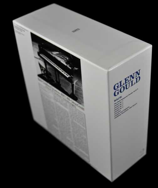Back of box, Gould, Glenn - Bach, The Goldberg Variations, 2