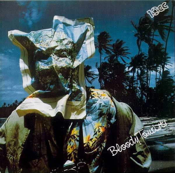 Front cover minus obi, 10cc - Bloody Tourists (+3)