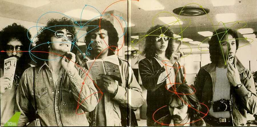 Gatefold Sleeve Inner, 10cc - Bloody Tourists (+3)