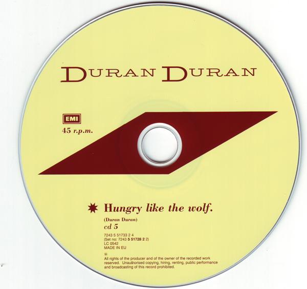 CD5 [Disc], Duran Duran - The Singles 81-85 Boxset