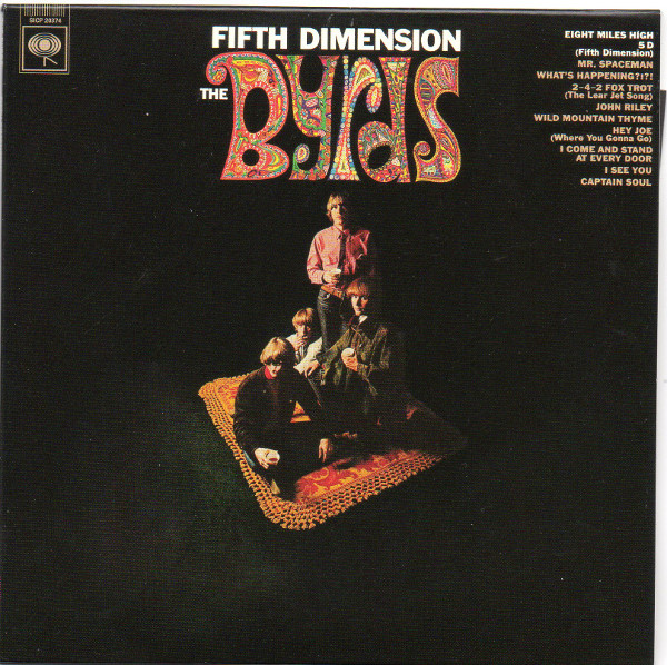 Front sleeve, Byrds (The) - Fifth Dimension (+14)