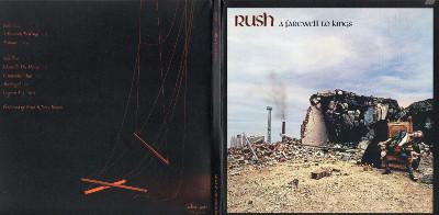 Front & Back gatefold sleeve, Rush - Sector 2