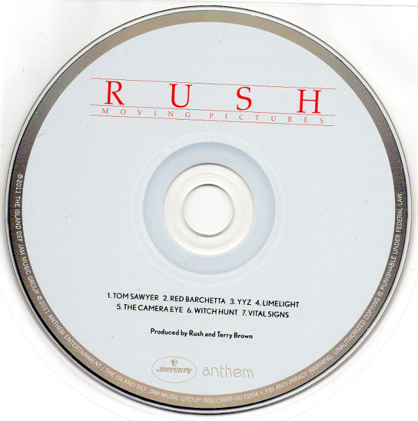 Cd, Rush - Sector 2